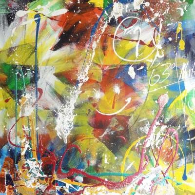 Acrylmalerei abstrakte Farbwelten