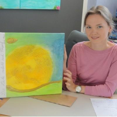 Charityflyer mit Jana Haas
