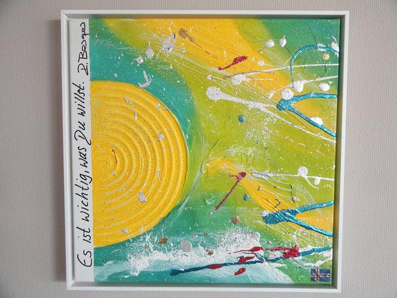 Energiebilder Acrylmalerei