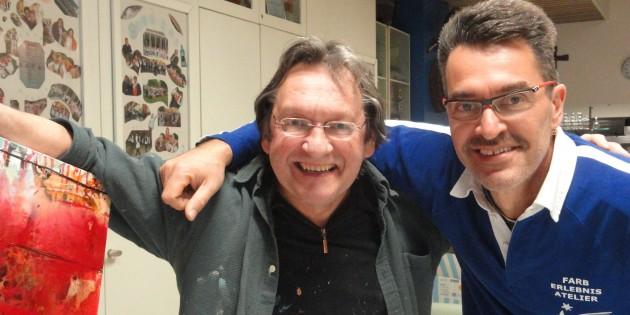 Roland Berger mit Günther Reil